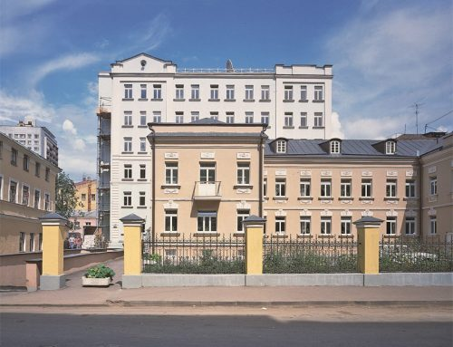 Старопименовский переулок, 13, стр. 1